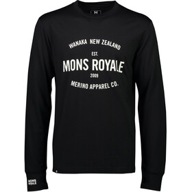 Mons Royale M's Yotei Tech LS Black